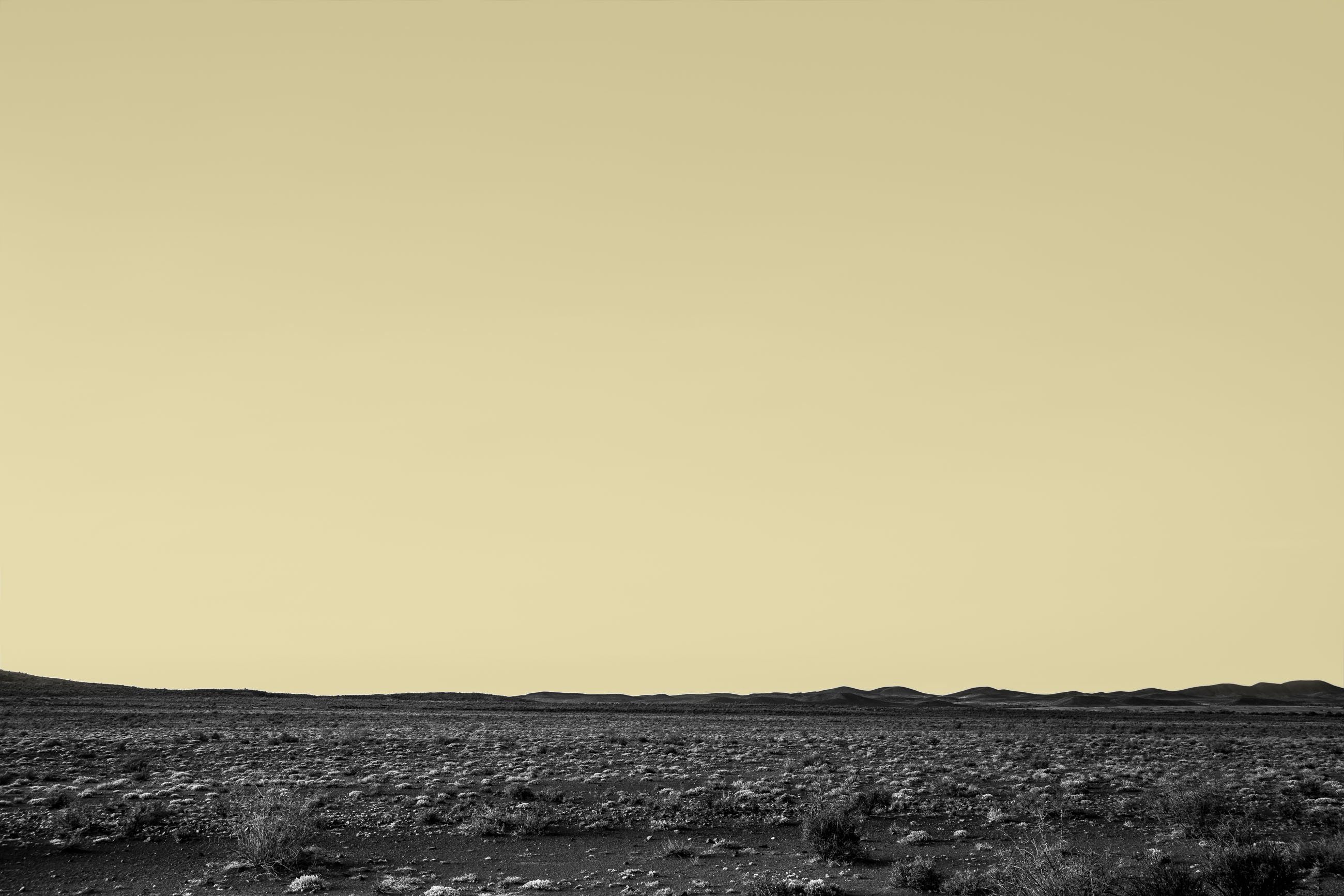 Landschaft mit buntem Himmel Contemporary Art - Zeitgenössische Kunst von dem Fotograf Sven Vogel aus Köln